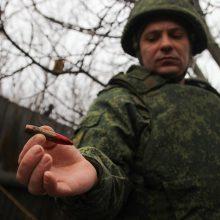 Ukrainos karys žuvo per apšaudymus Donbase