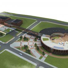 Naujoji mokykla Klaipėdos miestui kainuos 11 mln. eurų