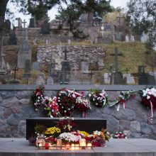 Gedimino kalne rasti sukilėliai Rasų kapinėse bus palaidoti lapkritį