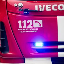Kėdainių rajone sprogus dujoms užsidegė namas