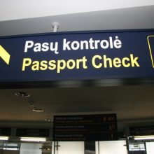 Sostinės oro uoste sulaikyta nusikaltimu įtariama devyniolikmetė vilnietė