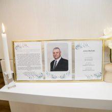 Kaune atsisveikinama su krepšininko J. Mačiulio tėčiu