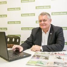 """Kandidatas į """"Linavos"""" prezidentus R. Austinskas: ginsime visų vežėjų interesus"""