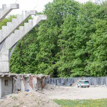 Į rekonstruojamą Kauno stadioną lėkė tarnybos: rastas sprogmuo