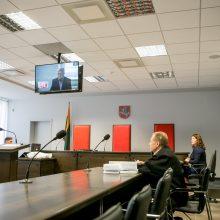 Teismo malonės prašantis V. Beleckas viešai įvardijo, kur yra nerasta grobio dalis