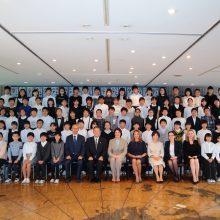 D. Nausėdienė Japonijoje susitiko su Lietuva besidominčiais moksleiviais