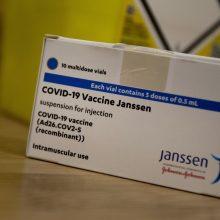 "Danija atsisako ""Johnson & Johnson"" vakcinos nuo koronaviruso"
