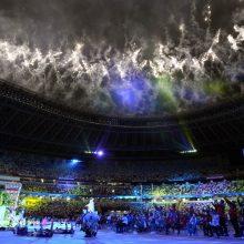 Paralimpiados uždarymu baigėsi aštuonerius metus trukusi Tokijo olimpinė saga
