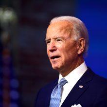 J. Bidenas pristatė būsimą JAV nacionalinio saugumo komandą
