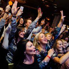 Į Dž. Butkutės koncertą sostinėje susirinko ištikimiausi gerbėjai