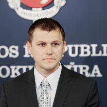 Buvęs prokuroras atsisakė kalbėti apie savo išėjimo iš tarnybos priežastis