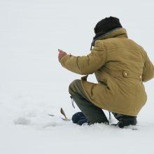 Klaipėdoje įlūžus ledui žvejas įsmuko į upę