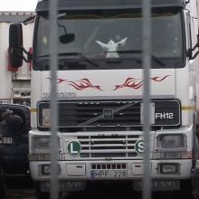 Tragiška mirtis Panevėžyje: vilkikas parblokštą vyrą tempė apie kilometrą