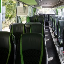Į tarpmiestinius autobusus vasarą negrįžo trečdalis keleivių