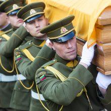Baltarusijai sukilimo vadų laidotuvėse Vilniuje atstovaus vicepremjeras