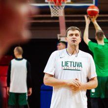 Lietuva – pirmajame atrankos į Europos čempionatą krepšelyje