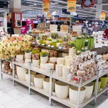 Aktualu: parduotuvių darbo laikas ilgąjį Velykų savaitgalį