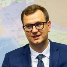 """VTEK tirs """"Lietuvos geležinkelių"""" vadovo M. Bartuškos elgesį"""