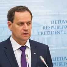 G. Nausėda: Prezidentūros teisės grupė vertina V. Tomaševskio kreipimąsi