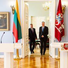 Premjeras su prezidentu aptars kandidatūras į ekonomikos ministrus, VPT vadovus
