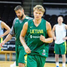 Lietuvos krepšininkai Belgrade turėjo pripažinti serbų pranašumą