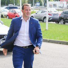 V. Sinkevičius išeina mėnesio tėvystės atostogų