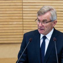 V. Pranckietis: sesiją stengsimės pabaigti laiku