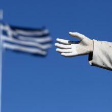 Vyriausybė nutarė skirti paramą Graikijai