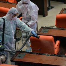 Licencijos patalpų dezinfekavimui bus išduodamos skubos tvarka