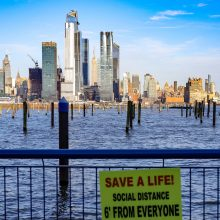 Niujorke koronaviruso aukų skaičius viršijo žuvusiųjų per Rugsėjo 11-osios atakas