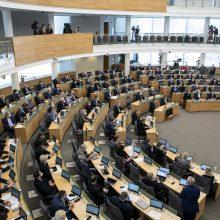 S. Skvernelis palaikytų idėją rengti nuotolinius Seimo posėdžius