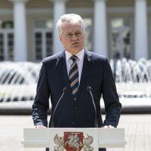 G. Nausėda pristatė trijų punktų planą krizei Baltarusijoje spręsti