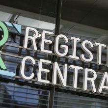 Registrų centrui už veiklos sutrikimus skirta 15 tūkst. eurų bauda