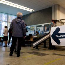 Seimo rinkimų antrajame ture jau balsavo daugiau kaip 5 proc. rinkėjų