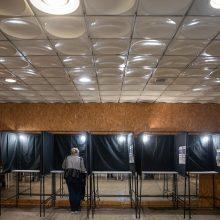 Policija: rinkimų sekmadienis praėjo ramiai, naujų ikiteisminių tyrimų nepradėta