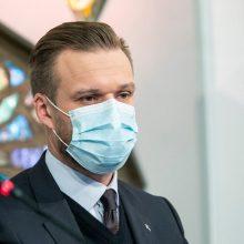 G. Landsbergis ragina neplėtoti diskusijos apie galimą individualų vakcinų pirkimą