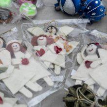 Vilniuje atidaryta virtuali labdaros Kalėdų mugė: šiemet laukiama milžiniškos paramos