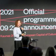 Ilgai laukta akimirka: atskleista Kauno – Europos kultūros sostinės metų programa