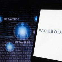 """Metavisatą"" kurianti ""Facebook"" įdarbins ES 10 tūkst. žmonių"