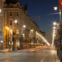 Vilniaus valdžia suteikė 26 mln. eurų garantiją apšvietimui modernizuoti