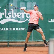 Prezidento taurė: lietuviškame teniso trileryje – R. Vrzesinskio pergalė