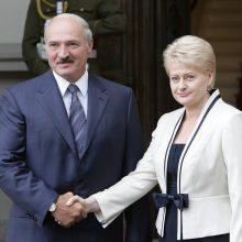 Baltarusiai įvertino D. Grybauskaitės prezidentavimą: nuo meilės iki neapykantos