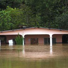 Panamoje per staigų potvynį nuskendo 11 vienos šeimos narių