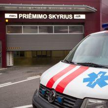 Vilniaus ligoninėje gydoma susižalojusi nepilnametė
