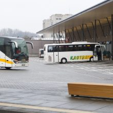Vežėjai diegianaujas technologijas autobusams dezinfekuoti