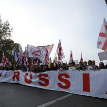 Europos teismas nurodė Rusijai sumokėti Gruzijai 10 mln. eurų