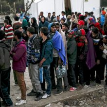 Serbijoje mirė du migrantai, kurie slėpėsi sunkvežimio cisternoje