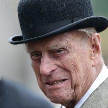 Elizabeth II sutuoktinis princas Philipas sugrąžintas į privačią ligoninę
