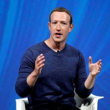 """""""Facebook"""" vadovas atskleidė socialinio tinklo ateities viziją"""