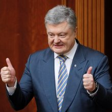 Lietuvos pavyzdžiu Ukraina konstitucijoje įtvirtino euroatlantinius siekius